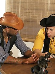 Two Handsome Gay Cowboys Seduce A Young 0 pics